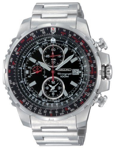 Men's Seiko® Flight Computer Watch