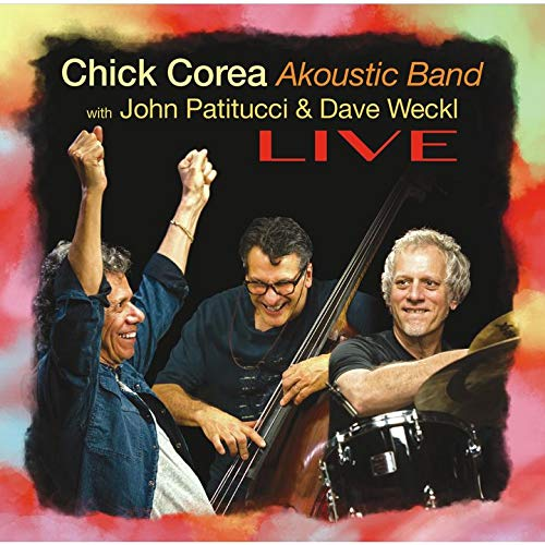 CD : CHICK/ AKOUSTIC BAND COREA - Live (2 Discos)