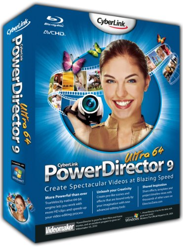 PowerDirector 9 Ultra 64 Edition (PC)
