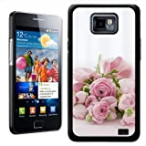 Fancy A Snuggle Beautiful Message Roses Design Hard Case Clip On Back Cover for Samsung Galaxy S2 i9100