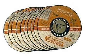Toolzone Lot de 6 petits disques /à scie circulaire en acier rapide pour perceuses /à main