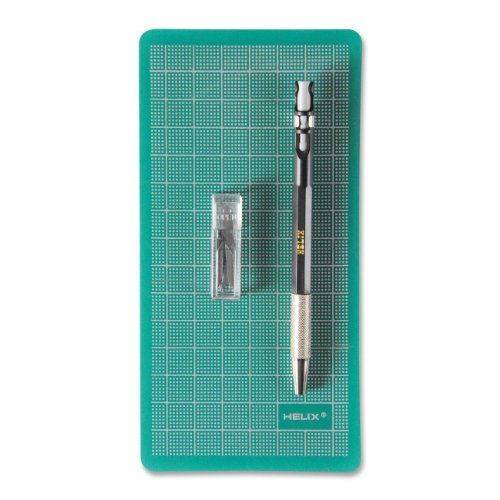 Helix Mini Cutting Mat And Utility Pen Knife Set (28928)
