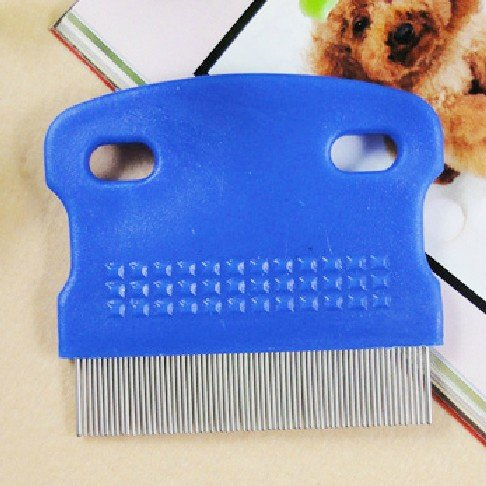 HuntGold-Pet-Cat-Dog-Toothed-Flea-Ovum-Remover-Grooming-Cleaning-Comb-Steel-Hair-Brushrandom-color