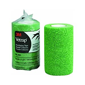 3M Vetrap Bandaging Tape HunterGreen