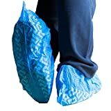 woodi wd228 Disposable Polypropylene Shoe Covers, Large, Pack of 100