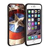 Gmyle Snap Cover Coated (Captain US Image) for iPhone 6 - Captain America