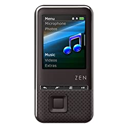 Creative ZEN Style 100 MP3 Player 4GB (Black)