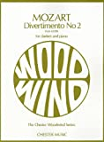 Divertimento No 2, from K439b for Clarinet and Piano (Chester Woodwind)