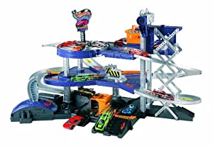 Mattel Hot Wheels WM Blitz Mega Garage MTTV3260