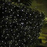 Innoo Tech 100 Led Solar String Outdoor Lights for Garden,Patio,Party,Christmas-White Fairy Light