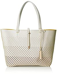 Vince Camuto Leila Travel Tote, Snow White Pineapple, One Size
