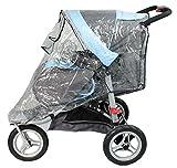 Looping-Protector de lluvia para silla de paseo de 3 ruedas, color transparente