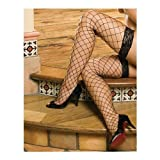 Marseilles Fence Net Thigh Highs