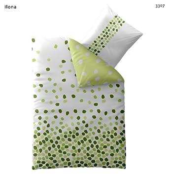 Bettwasche 135x200 Baumwolle Mit Reissverschluss Fashion Ilona Weiss