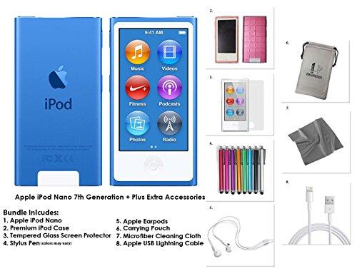 4x mumbi Displayschutzfolie iPod Nano 7G Schutzfolie (7. Generation)