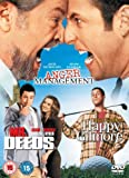Anger Management/Happy Gilmore/Mr Deeds [DVD]