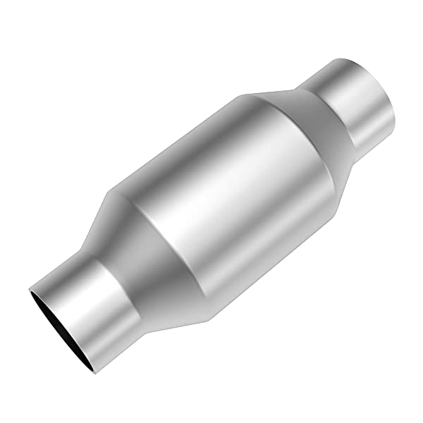"""EPA 3/"""" inch Universal Catalytic Cat Converter High Flow T409 Stainless Steel"""