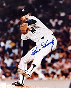 Goose Gossage Autographed  Original Signed 8x10 Color Action-photo Showing Him with... by Original Sports Autographs