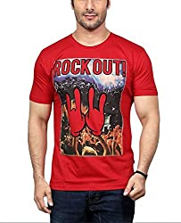 National Garments Men's Cotton T-Shirt_007a_Red_S