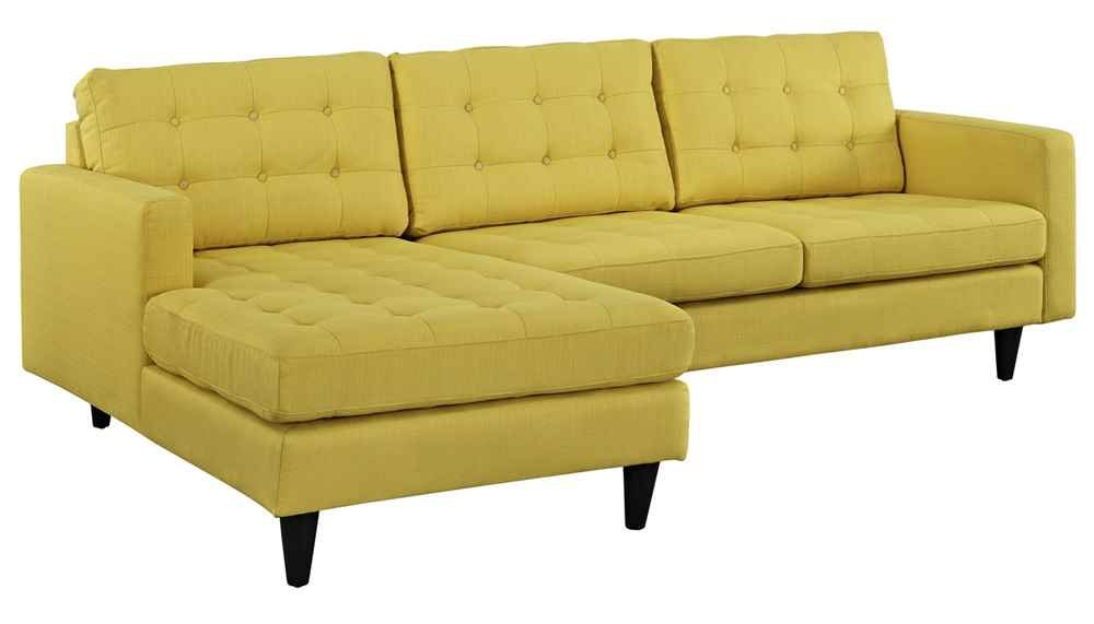 Left-Arm Sectional Sofa in Sunny