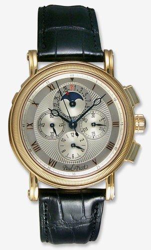 Paul Picot Atelier Chronograph 18k Rose Gold Mens Watch P3305.RG.7203