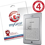 myGear Products CLEAR LifeGuard Screen Protectors for Amazon Kindle Touch (4 Pack) ~ myGear Products
