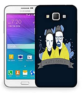 Snoogg Lets Cook Designer Protective Back Case Cover For Samsung Galaxy Grand Max G7200