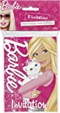 Barbie Invitations, 8ct
