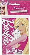 Barbie Invitations 8ct