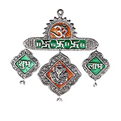 EtsiBitsi Metal Subh Labh Wall Hanging EB_Showpiece_048