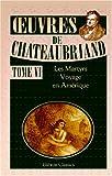 echange, troc François-René de Chateaubriand - uvres de Chateaubriand