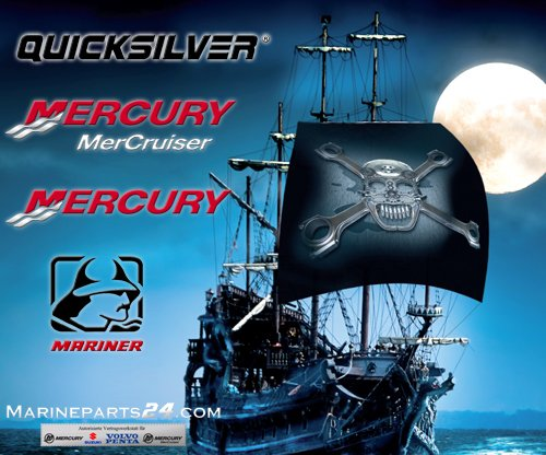 Mercury / Quicksilver Switch Assy Ign.For O/B (Mercruiser Ignition Switch compare prices)