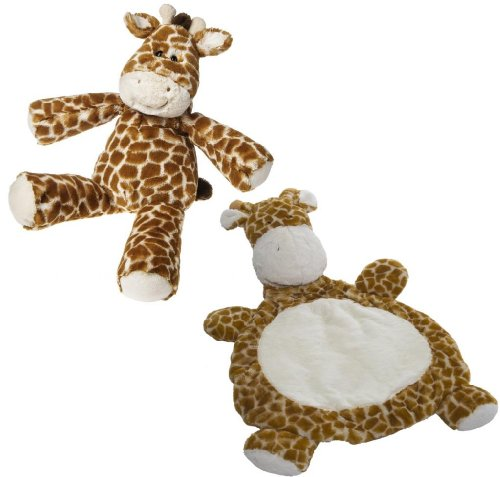 "Marshmallow Zoo Giraffe 20"" Plush Toy With Baby Mat front-998179"