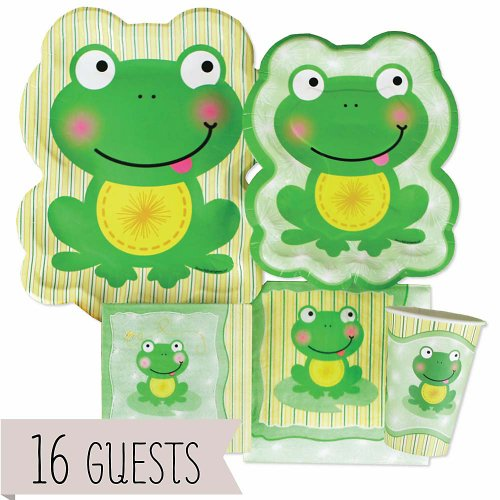 Frog Baby Shower Party Supplies