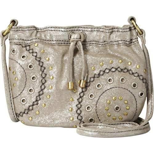 Fossil Winslet Studded Mini Bag (Silver)