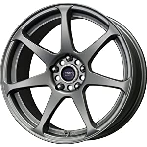 MB Wheels MB Battle Matte Gunmetal Wheel (18x8