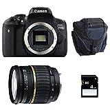 CANON EOS 750D + TAMRON SP AF 17-50 f/2,8 XR Di II LD + Sac + SD 4Go