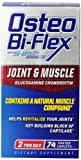 Osteo Bi-Flex Joint and Muscle Nutritional Supplement, 74 Count
