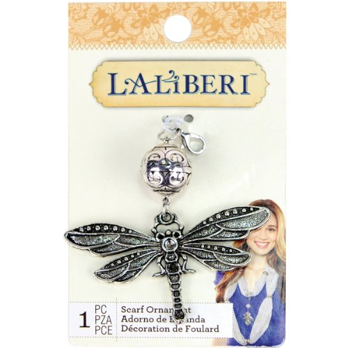 EK Success Brands Laliberi Scarf Pendant, Dragonfly