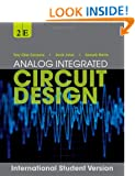 Analog Integrated Circuit Design