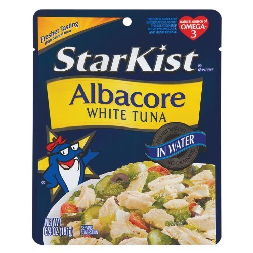 Starkist Albacore White Tuna In Water, 6.4-Ounce Pouch (Pack Of 30)