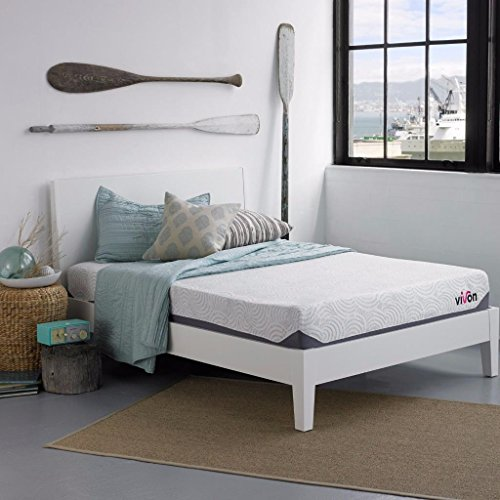 Check Out This Vivon 11 Inch Gel Memory Foam Mattress, King