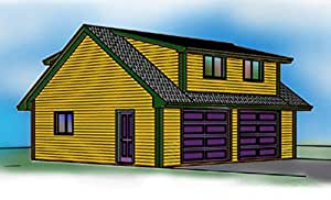 2 Story Garage Plans 2 Car Shed Roof Dormers 28 X