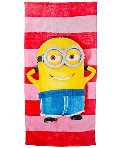 Minions Asciugamano da bagno telo mare asciugamano 75x 150cm-Cattivissimo Me 2