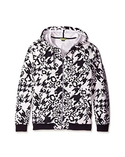 Versace Jeans Men's Animal & Houndstooth Zip Hoodie