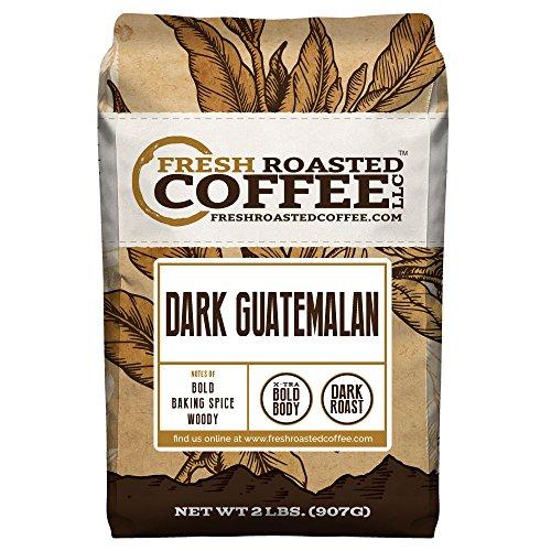 Dark Guatemalan, Whole Bean Coffee, Fresh Roasted Coffee LLC (2 lb.) (Fresh Roasted French Roast compare prices)