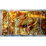 Contemporary Metal Wall Decor - Unique Artwork - Modern Painting ~ ASH CARL