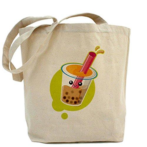 Cafepress Boba Tea Tote Bag - Standard Multi-Color