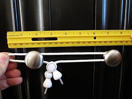 kiscords baby safety cabinet locks for knobs child safety cabinet latches for home safety strap. Black Bedroom Furniture Sets. Home Design Ideas
