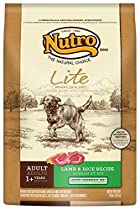 NUTRO Lite, Weight Loss Dry Dog Food, Lamb and Rice, 30 lbs.